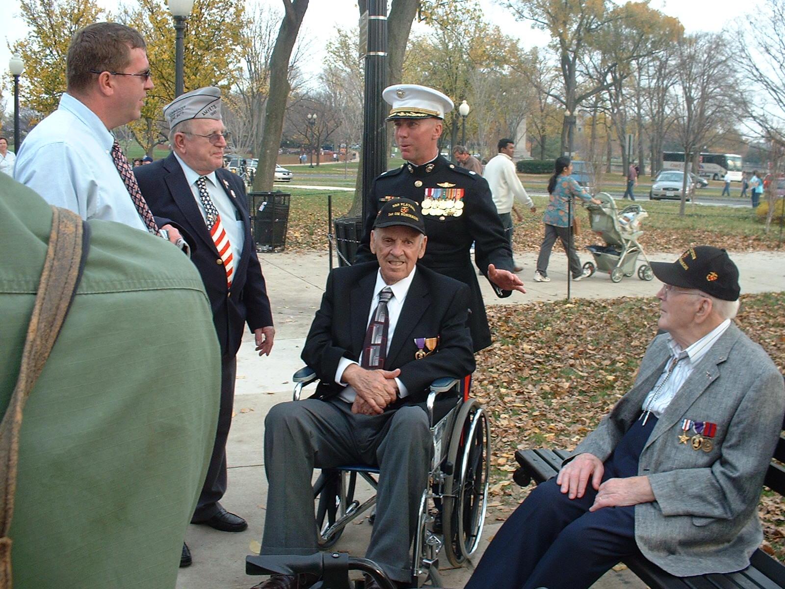 "Charles W. ""Chuck"" Lindberg (June 26, 1920 - June 24, 2007) Veterans Day"